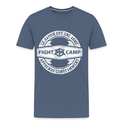 Fight Camp - Savoir Arme - T-shirt Premium Homme