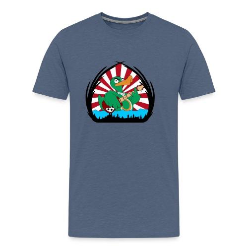 wild duckwar - Männer Premium T-Shirt