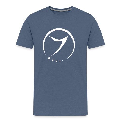 zenon logo minimal - Men's Premium T-Shirt