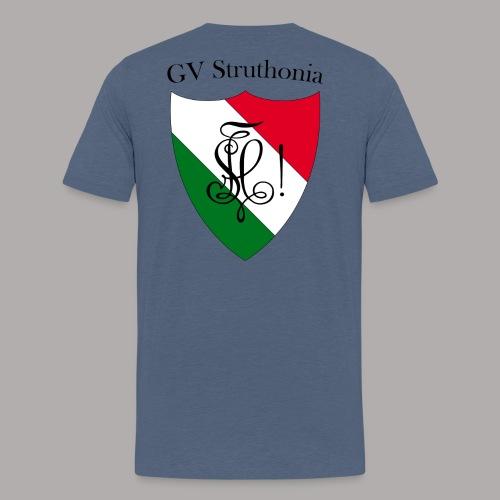 Wappen Struthonia beschriftet - Männer Premium T-Shirt