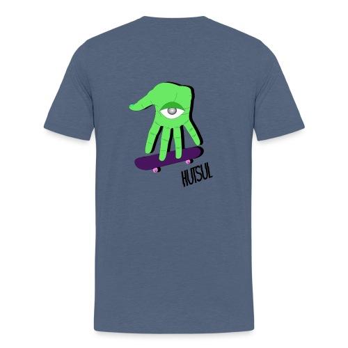 Zombie Skate Hutsul - T-shirt Premium Homme