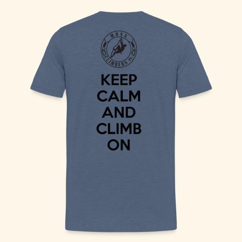 Keep Paita - Miesten premium t-paita