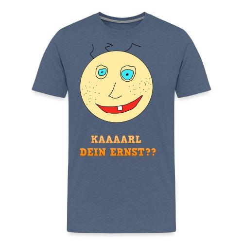 Karl dein ernst Text png - Männer Premium T-Shirt