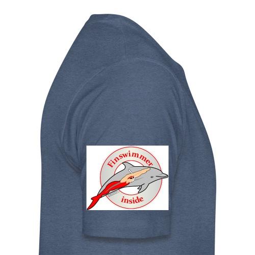 Logo für alle Freunde des Finswimming - Männer Premium T-Shirt