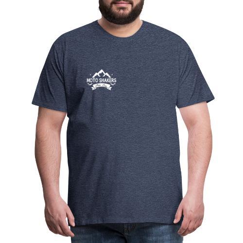 logo bianco - Maglietta Premium da uomo