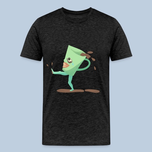 crying cup - Premium-T-shirt herr