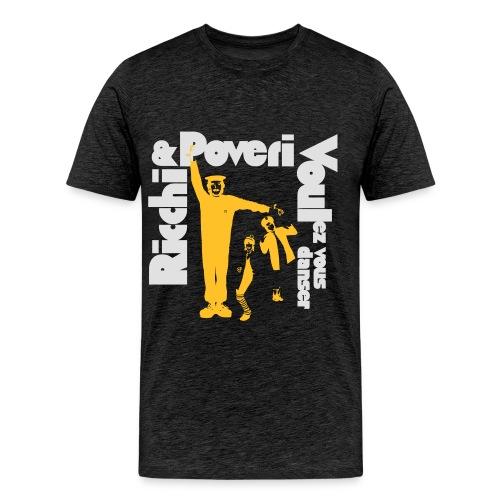 Black Poveri - Maglietta Premium da uomo