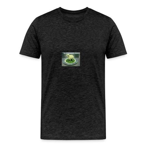 How to confuse a vegan - Männer Premium T-Shirt