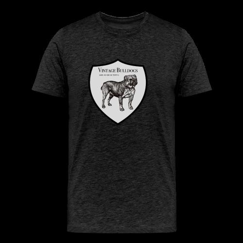 Vintage Bulldog - Männer Premium T-Shirt