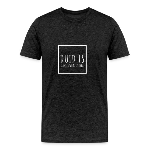 Dorfleibal | Duid Is | white - Männer Premium T-Shirt