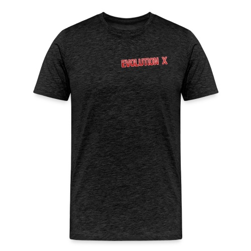 Evolution X Logo Rot - Männer Premium T-Shirt