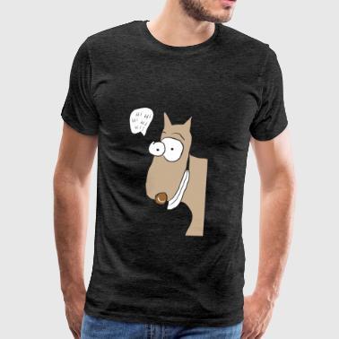 Belllo med tre L - Premium-T-shirt herr