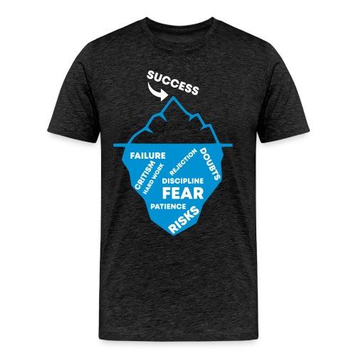 THE ICEBERG OF SUCCESS - UNDER THE SURFACE - Männer Premium T-Shirt
