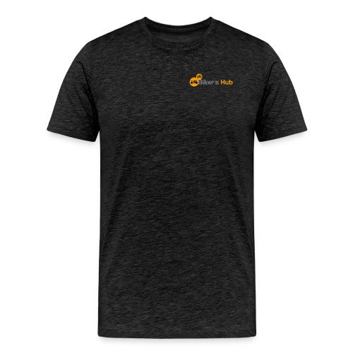 Biker's Hub Small Logo - Men's Premium T-Shirt