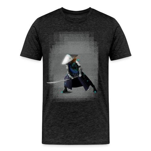Futuristico Samurai - Maglietta Premium da uomo