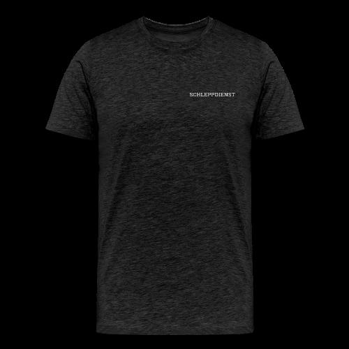 SCHLEPPDIENST - SCHRIFT - Männer Premium T-Shirt