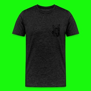 Small_Dog-_-_Bryst_- - Herre premium T-shirt