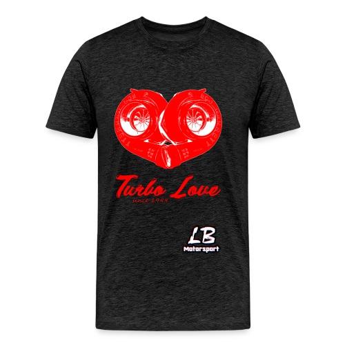 LB Motorsport - Turbo Love - Männer Premium T-Shirt