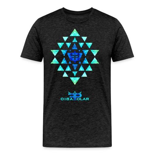 Iced Yantra - Männer Premium T-Shirt