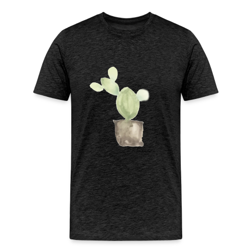 cactusconlogo - Camiseta premium hombre