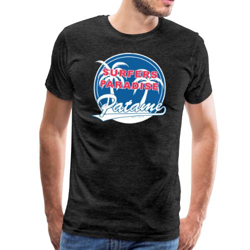 Patame Surfers Paradise BlueWhite - Männer Premium T-Shirt