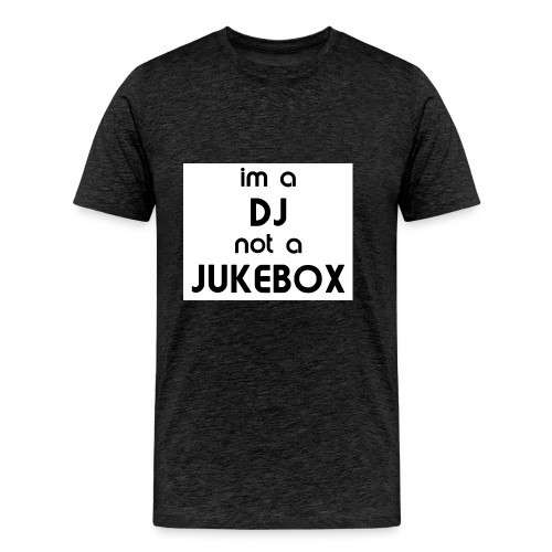 dj_jukebox - Premium T-skjorte for menn