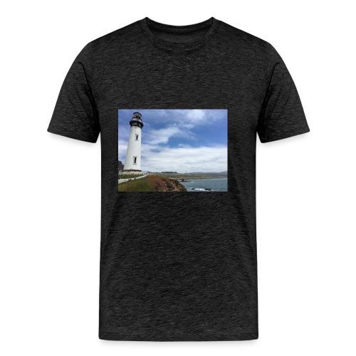 LIGHTHOUSE - Maglietta Premium da uomo