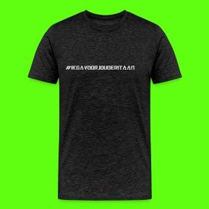 NIEUW! #IK GA VOOR JOU DE RIT AAN - Mannen Premium T-shirt