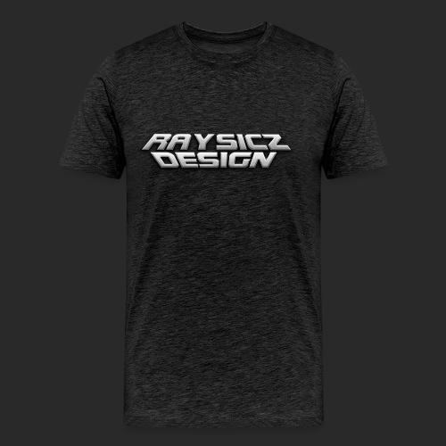 Raysicz Design Metal Schrift - Männer Premium T-Shirt