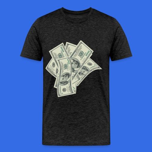 more money - Men's Premium T-Shirt