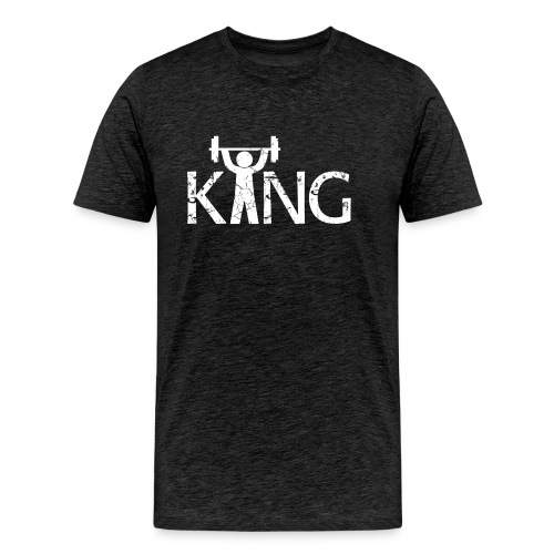 King of the Gym - Männer Premium T-Shirt
