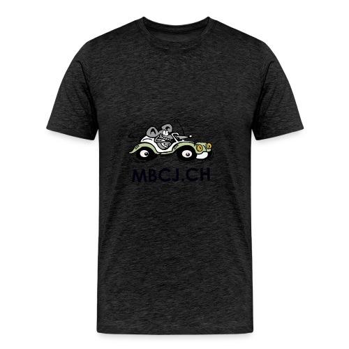 logo mbcj 50cm sans arc - T-shirt Premium Homme