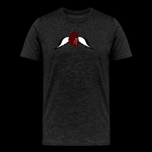 Fly Heart - Männer Premium T-Shirt