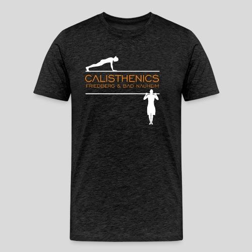 Calisthenics Friedberg / Bad Nauheim (weiss) - Männer Premium T-Shirt