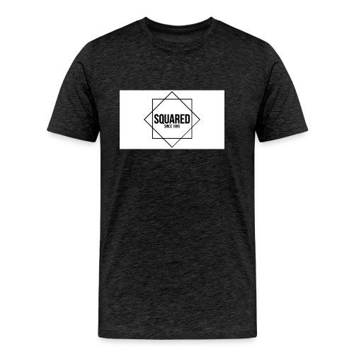 squared - Mannen Premium T-shirt