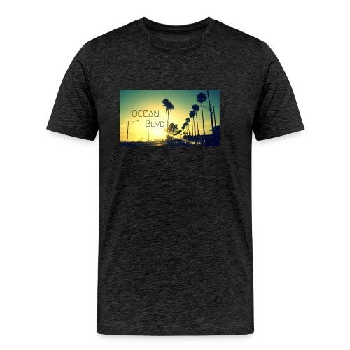 Ocean Blvd - Männer Premium T-Shirt