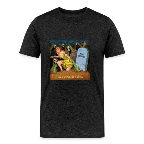 Jesus Complex - Live A Little, Die A Little - Mannen Premium T-shirt