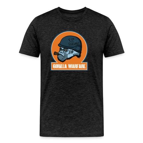 Gorilla warfare - Männer Premium T-Shirt