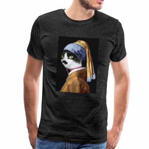 Micia Old Painting - Maglietta Premium da uomo
