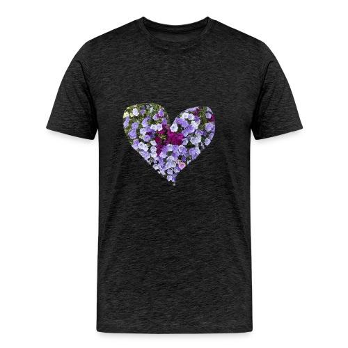 Du bist mein Herzilein - Männer Premium T-Shirt
