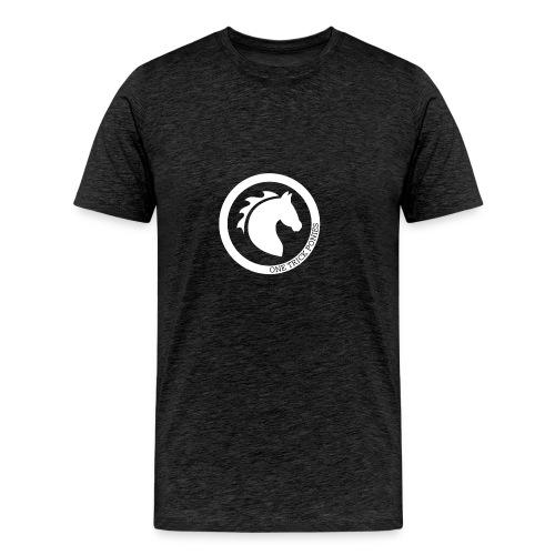 one trick ponies wit - Mannen Premium T-shirt