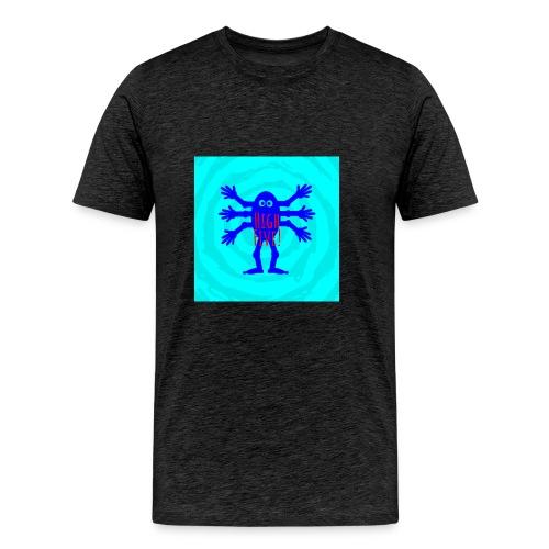 high five alien - Männer Premium T-Shirt
