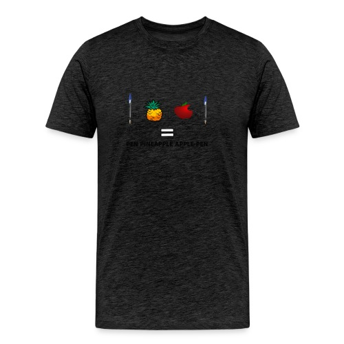 PINEAPPLE APPLE PEN - Maglietta Premium da uomo