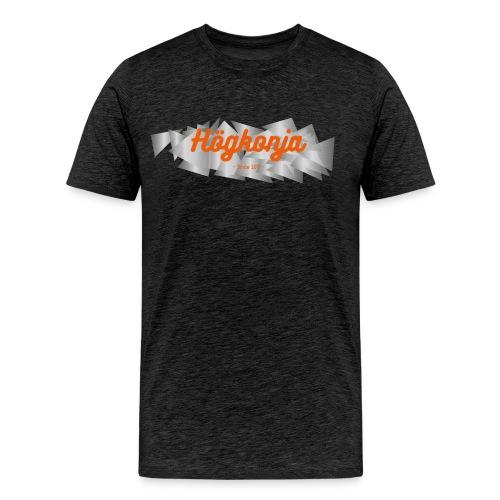 Högkonja Logga - Premium-T-shirt herr
