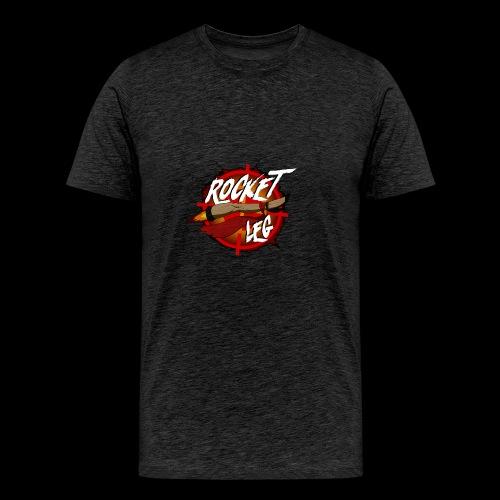 Rocket Leg - Premium-T-shirt herr