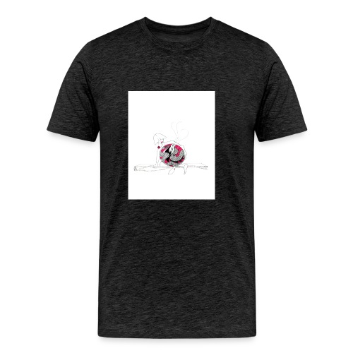 red lady - Men's Premium T-Shirt