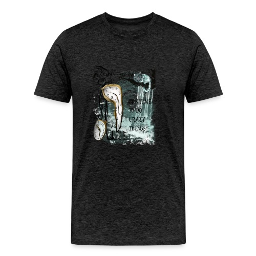 Alice the time.. - Camiseta premium hombre