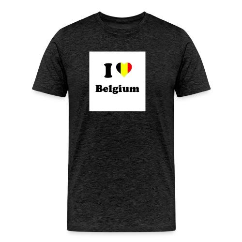 i love belgium - Mannen Premium T-shirt