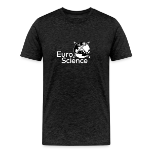Euroscience logo White - Men's Premium T-Shirt