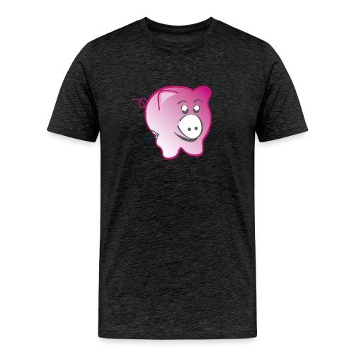 Pig - Symbols of Happiness - Men's Premium T-Shirt